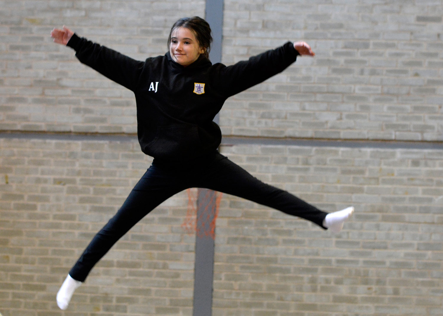Photo: Trampolining, Open Day2014