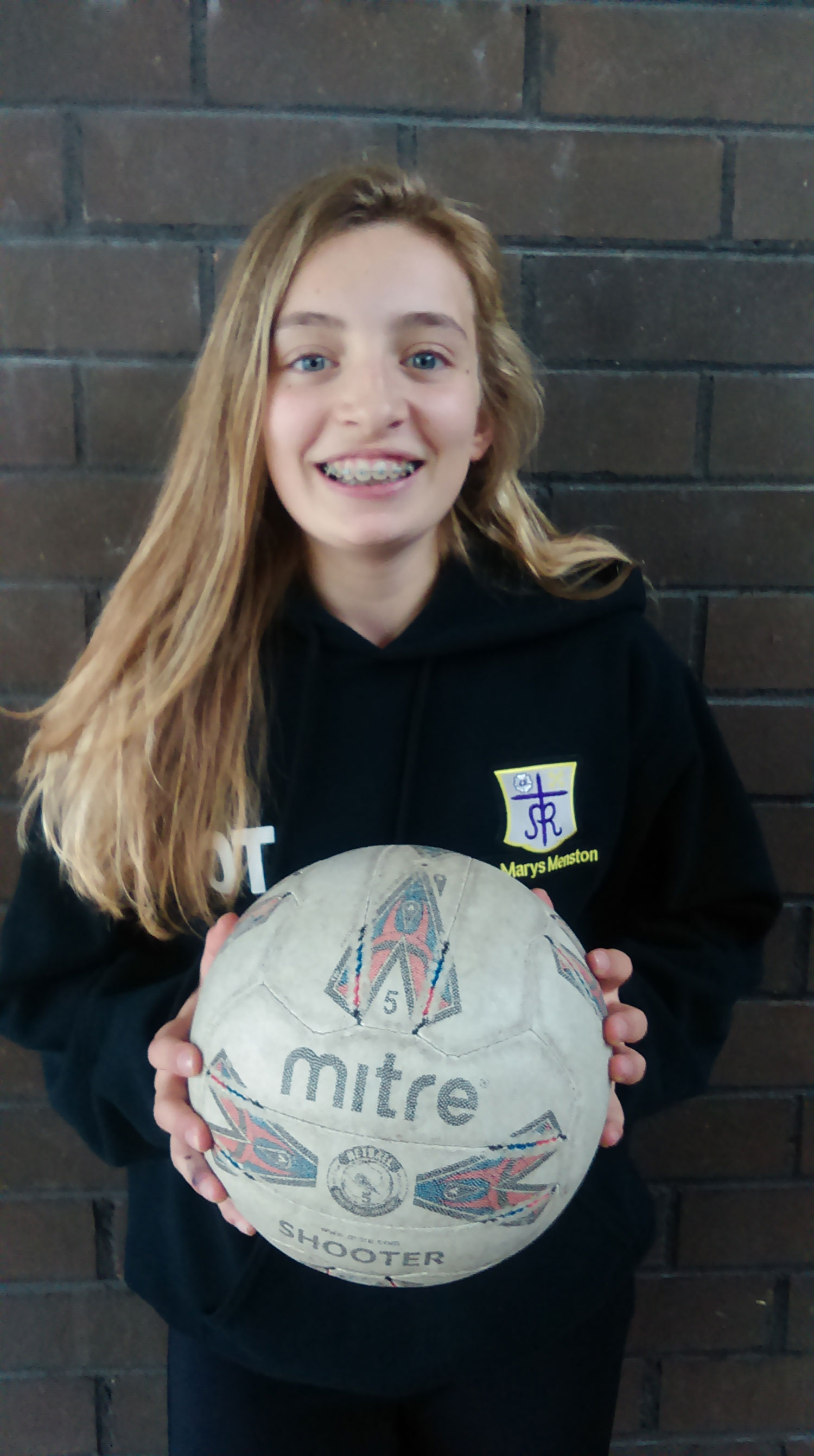 Photo: Well done again to Orla for another netball achievement!