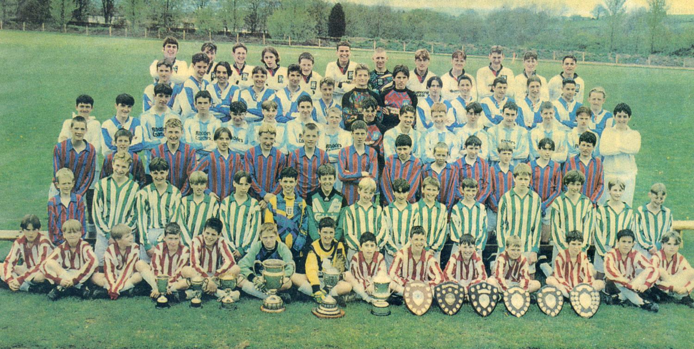 Photo: St. Mary's win Ten football titles 1995-6