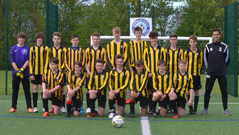 Photo: Year 10 Football Team 2014–15