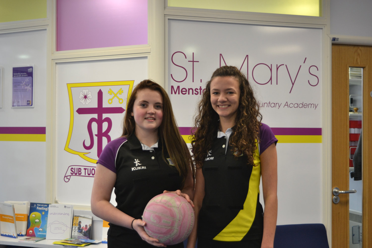 Photo:  Niamh Munnelly (left) and Lucy Moorby (right)