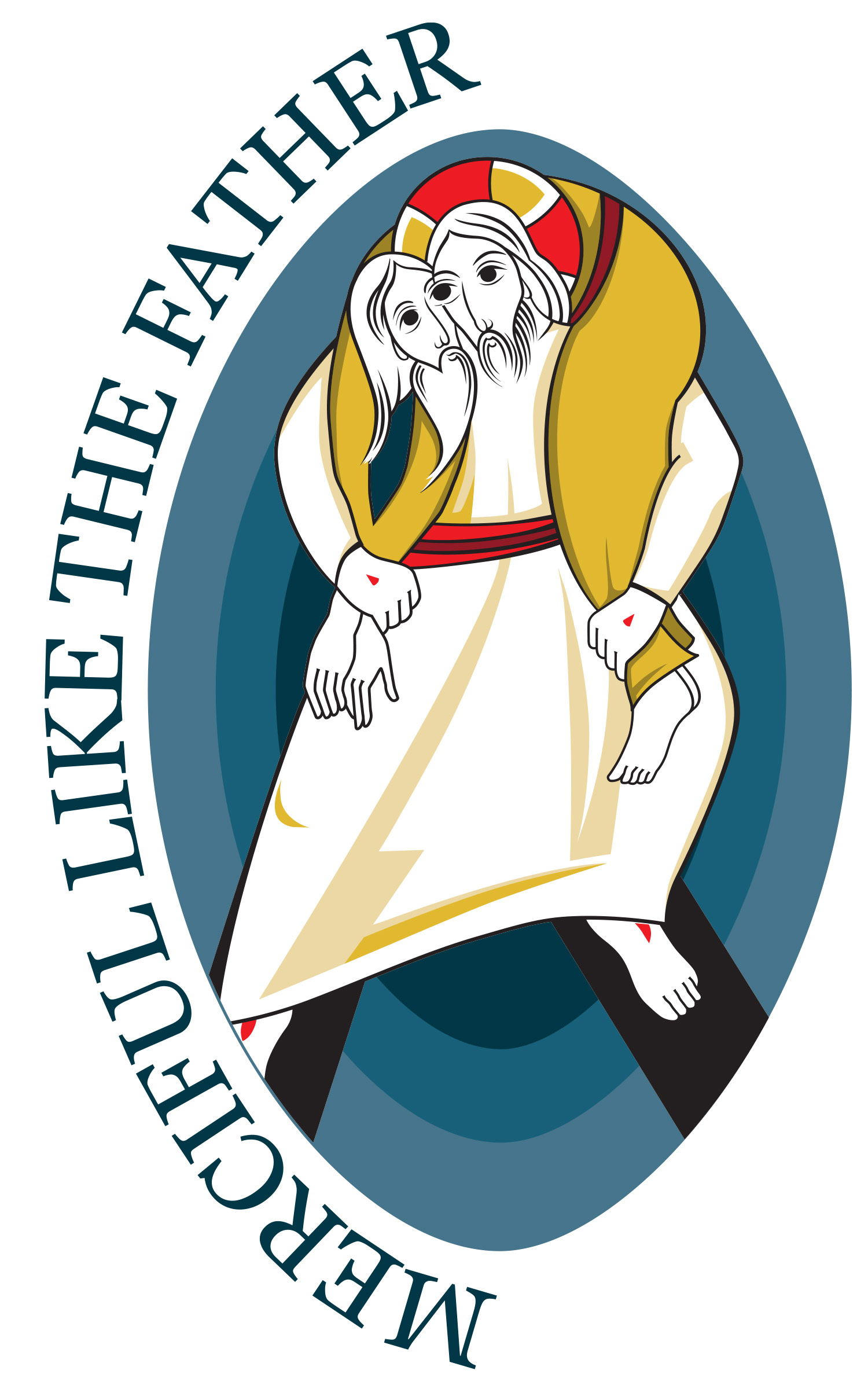 The official logo for the Year of Mercy