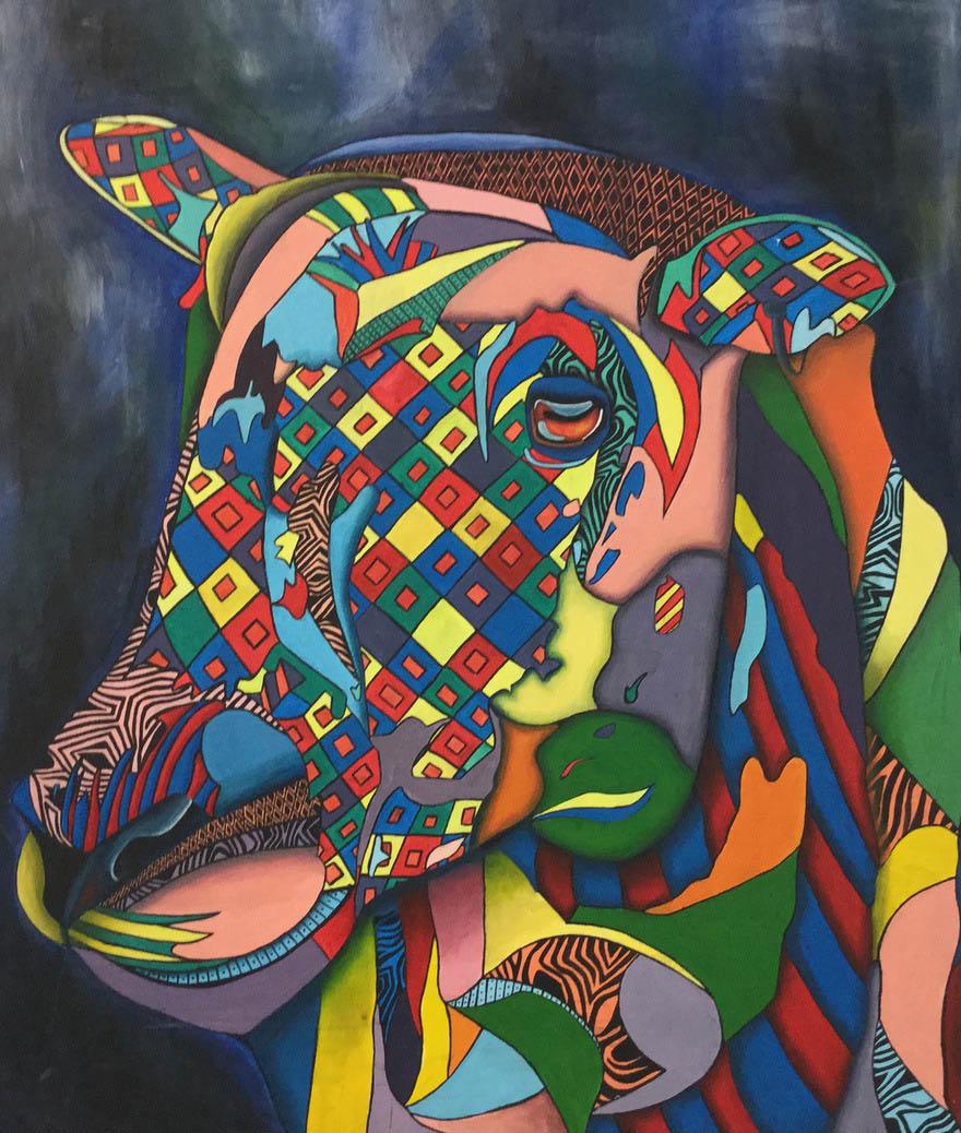 Roisin Clancy (Acrylic on canvas)