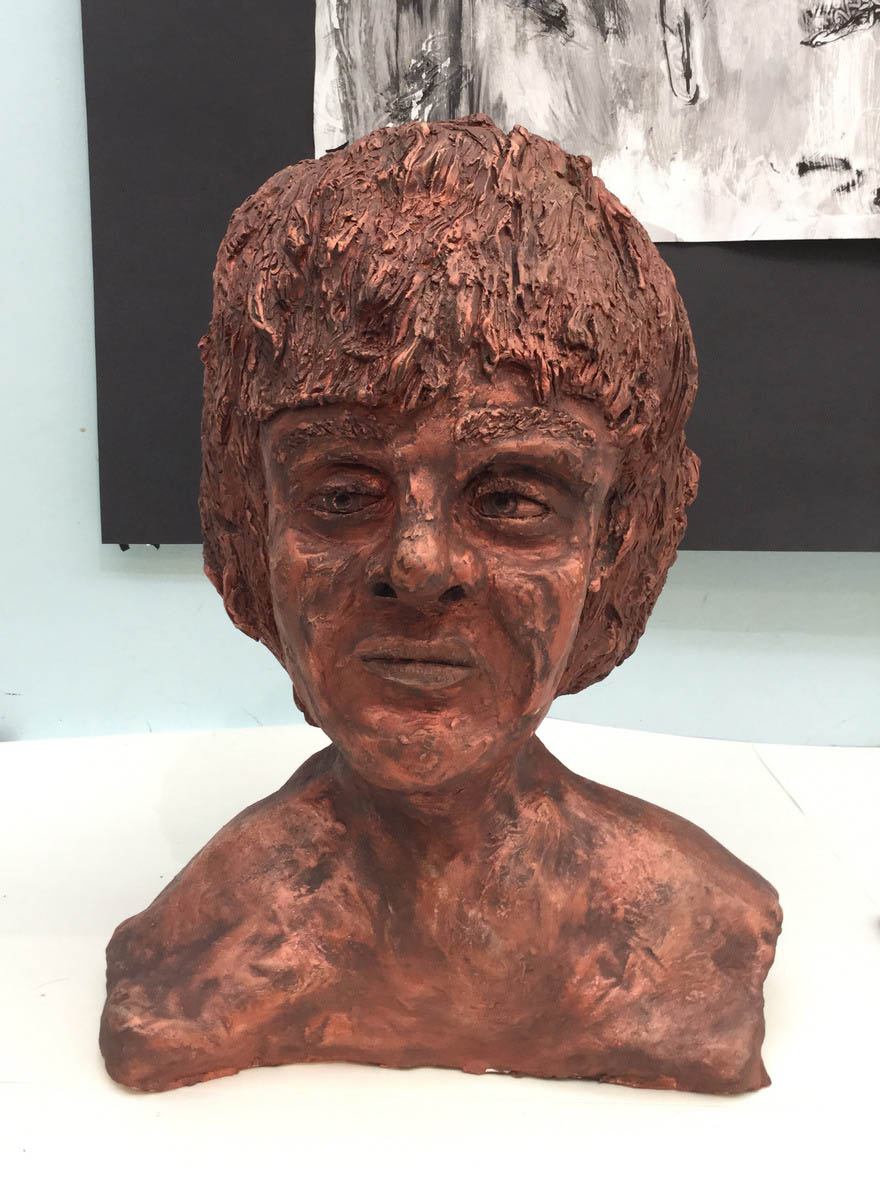 Jacob Page (Ceramic and paint)
