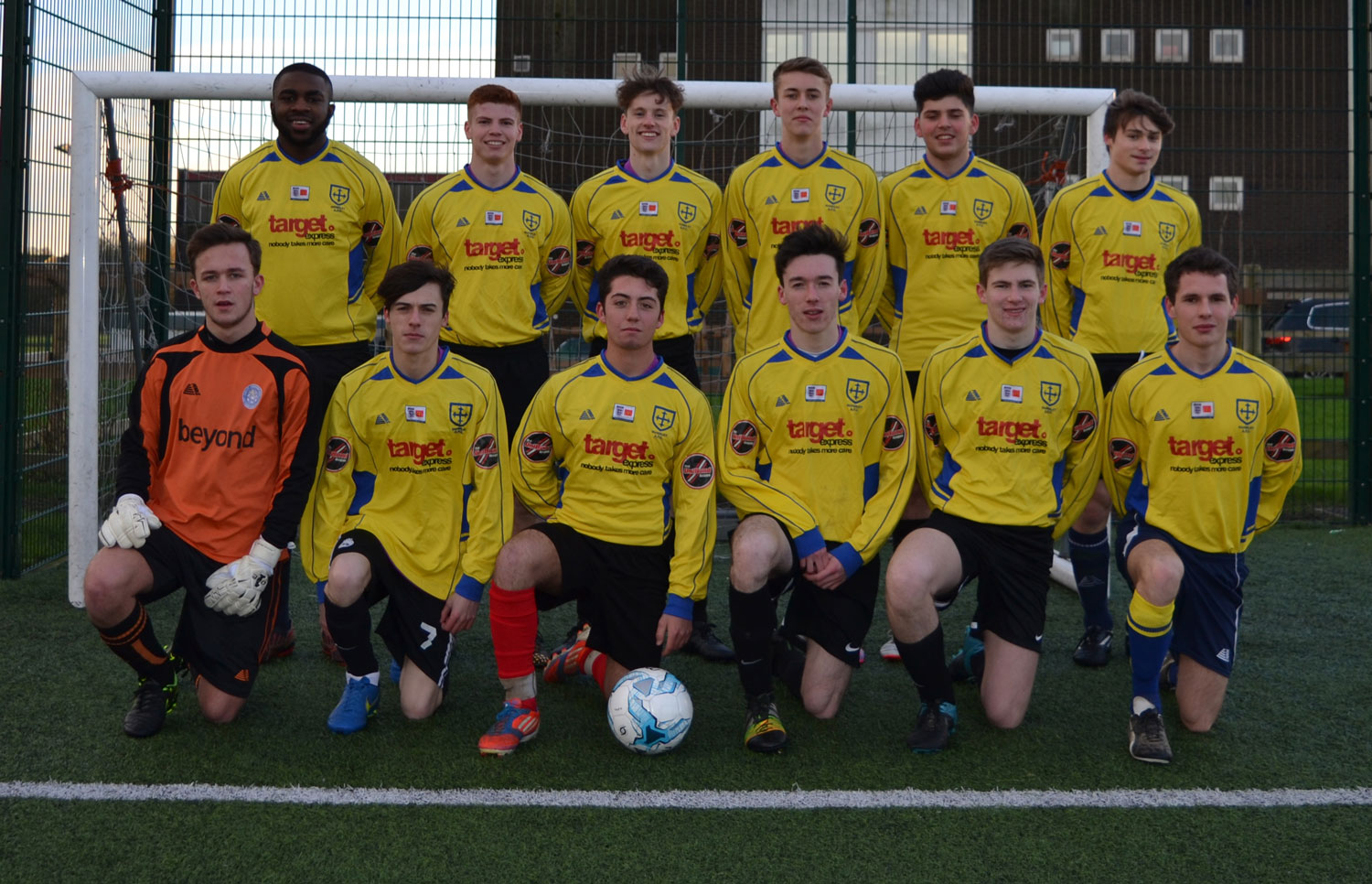 Team photo before the game with Horsforth, 14 January 2016
