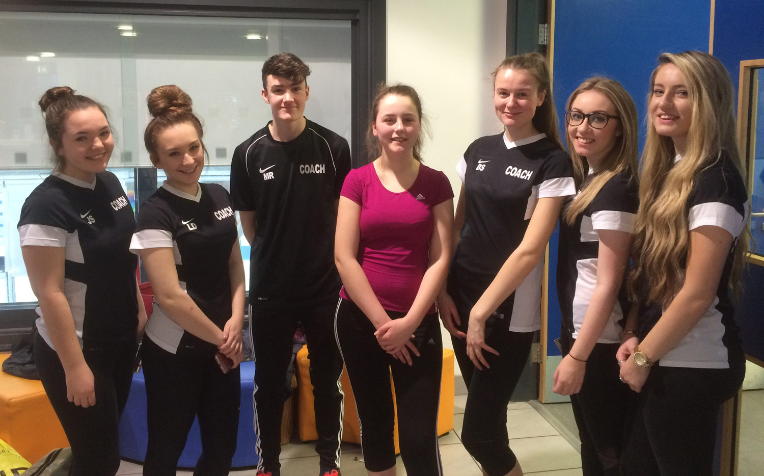 Photo: Our Sports leaders at the  Holt Park Active  event