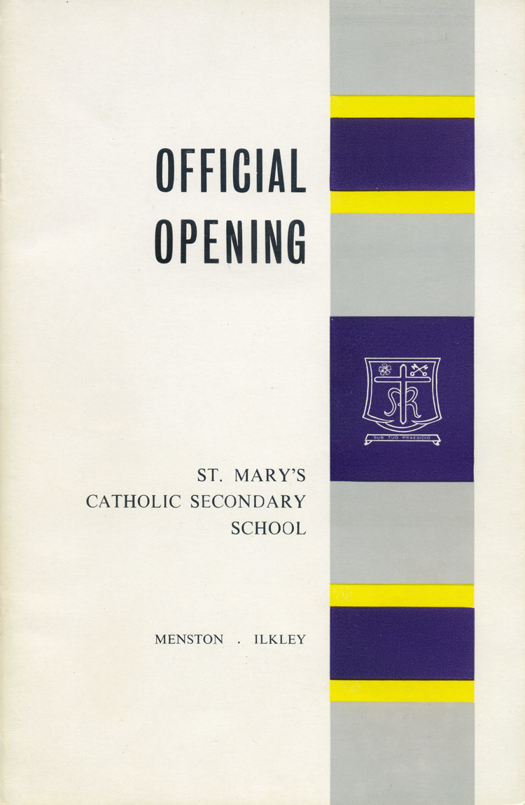 History: Our School Crest and school colours of Purple, Yellow and Grey have remained the same since the day the school opened in 1964.