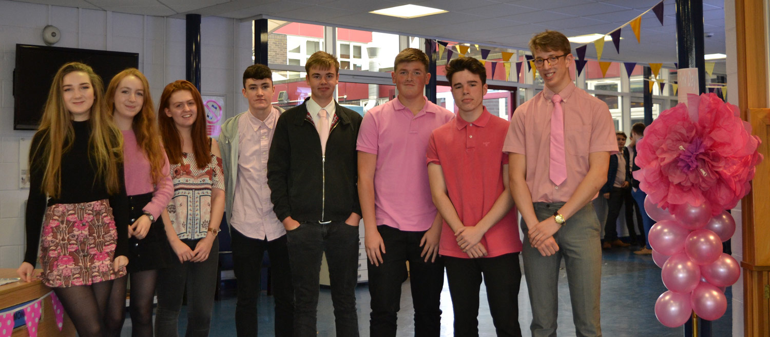 Photo: We are very proud of our Sixth Form students