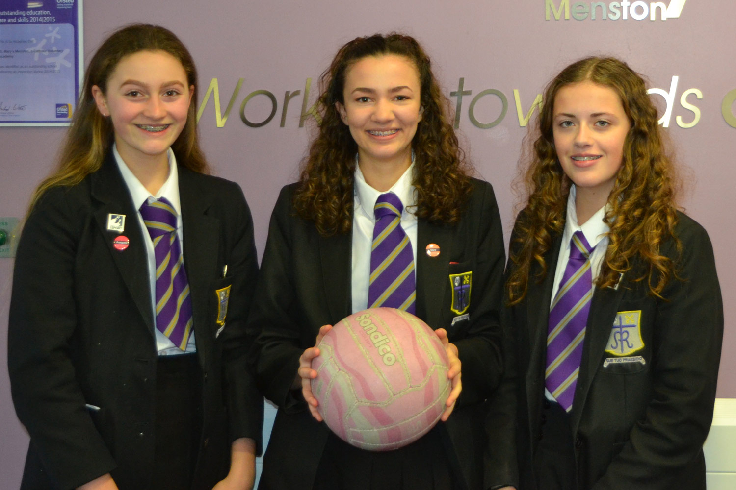 Photo (LEFT TO RIGHT):Katie Gleeson, Lucy Moorby, Isabel Wilks
