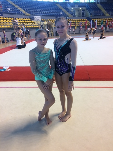 Photo: Well done Olivia and Sophie! We are very proud.