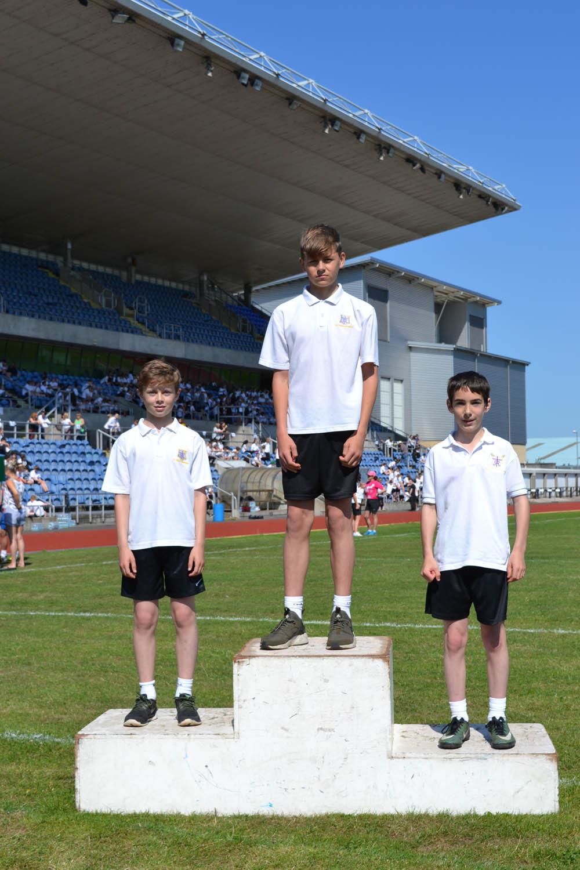 Year 7 Boys 100m