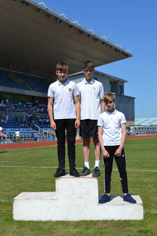 Year 8 Boys High Jump