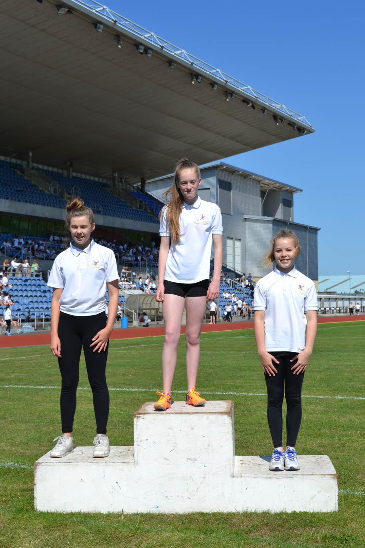 Year 8 Girls 100m