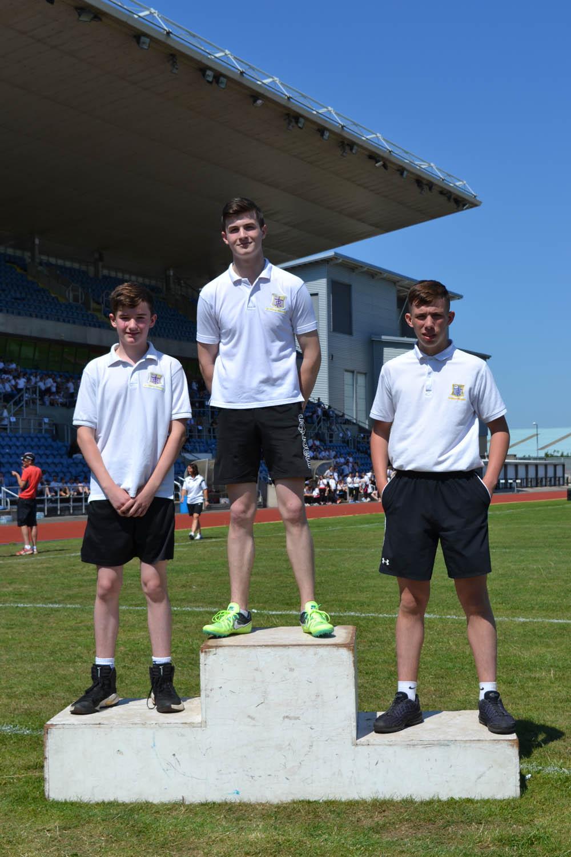 Year 9 Boys Triple Jump