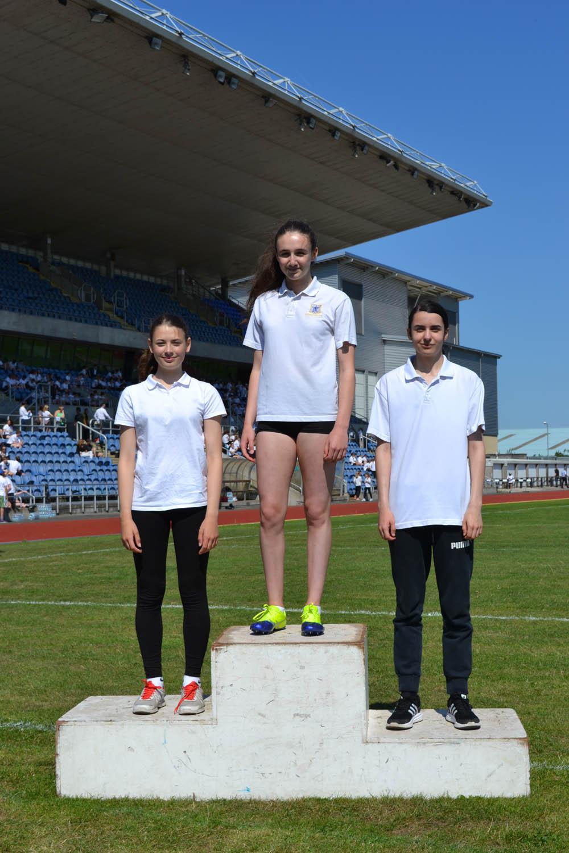 Year 9 Girls 100m