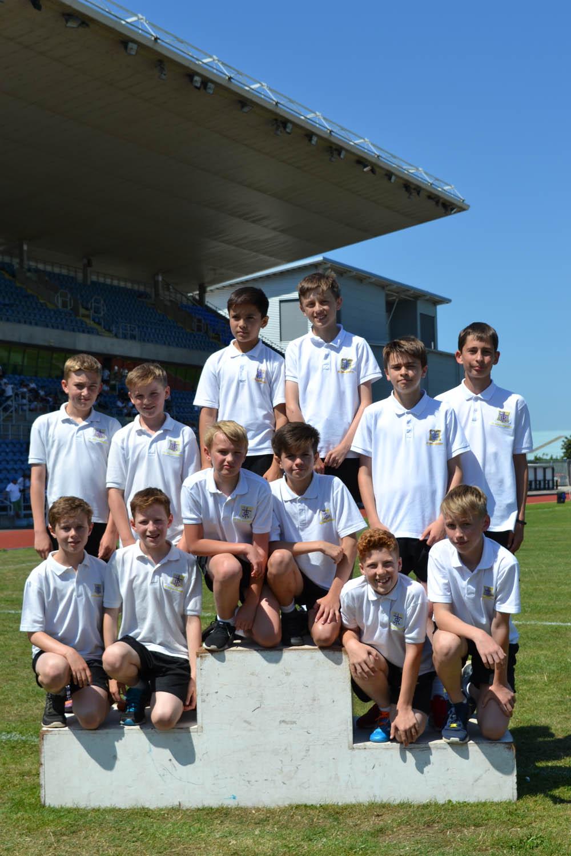 Year 7 Boys 4x100m relay
