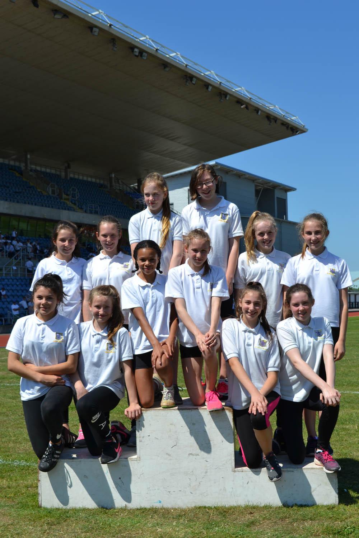 Year 7 Girls 4x100m relay