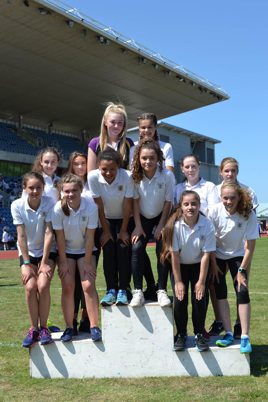 Year 9 Girls 4x100m relay