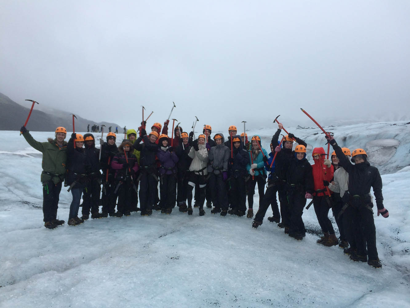 Iceland Geography 'Fire and Ice' Visit