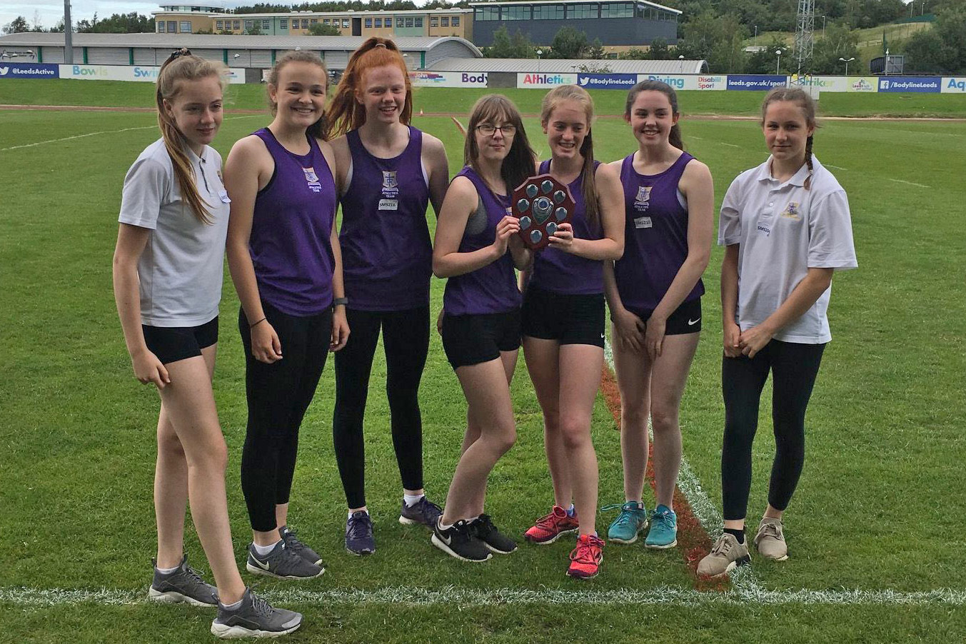 Athletics champions: a fantastic achievement!