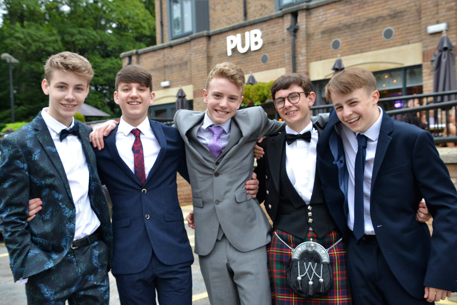 Photo: Year 11 represented the school impeccably