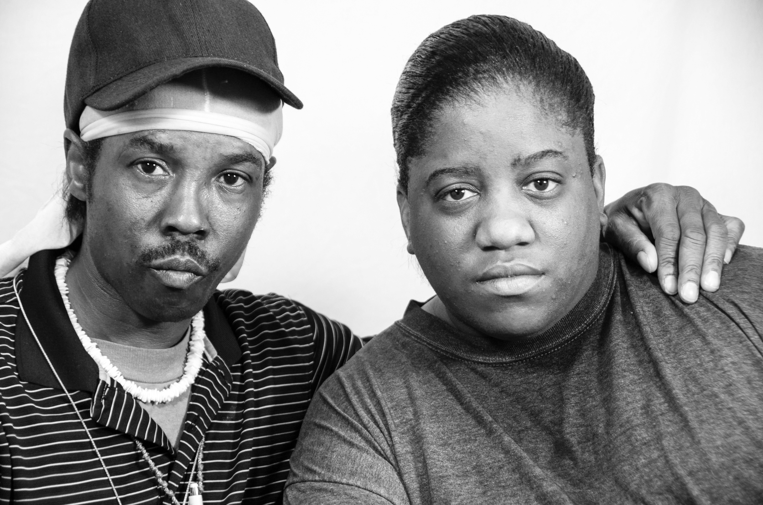 Randy Brooks, 52 and Antoinette Blunt, 30. This portrait was part of a Modesto Bee series on mental illness and access to care.