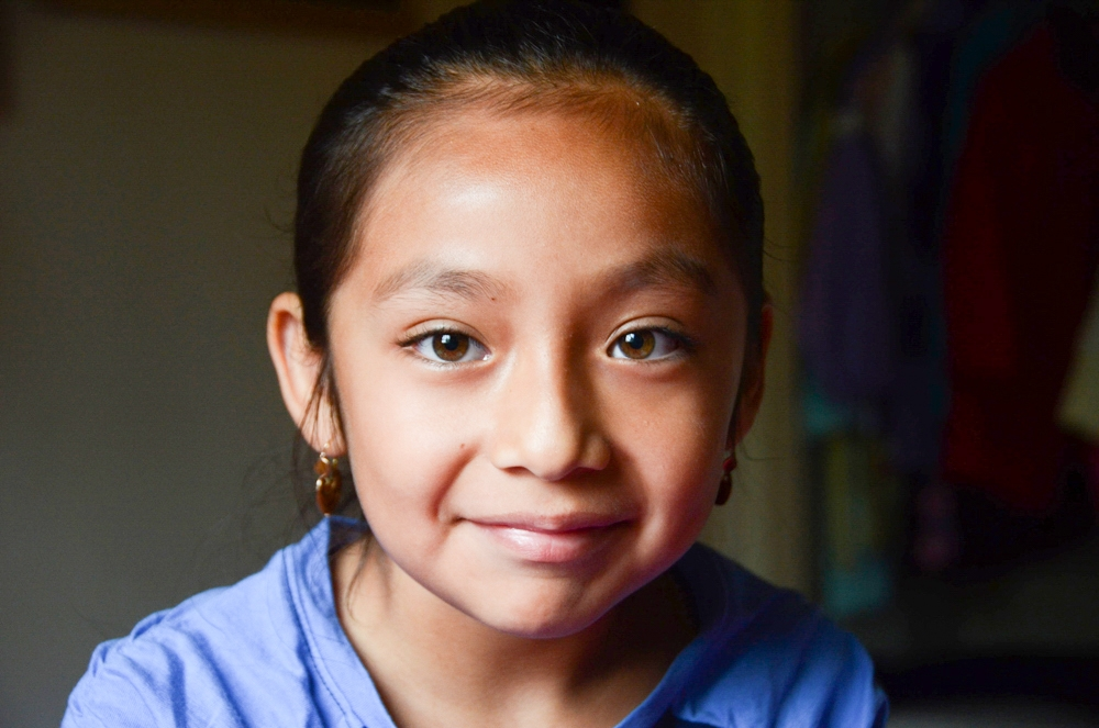 Itzel Garcia, 7. This portrait was part of a Los Angeles Daily News story on lack of access to dental care for California's low income kids.