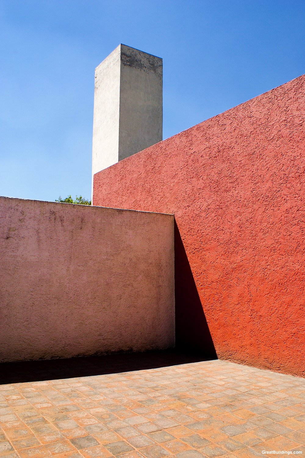 Luis Barragan. Color inspiration for the day.