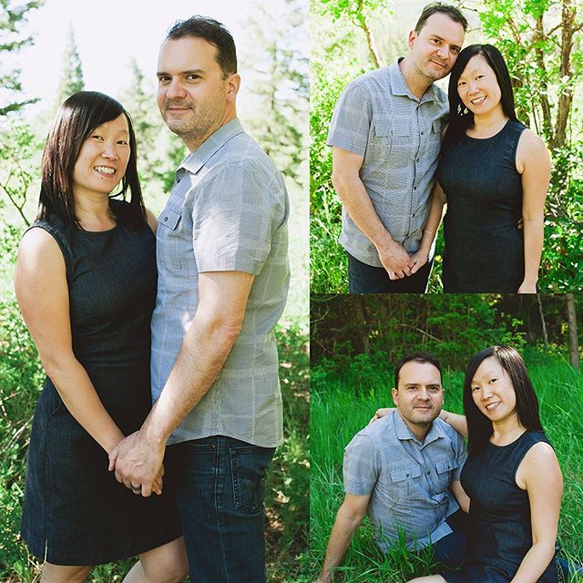 Sean and I are celebrating our 1 year anniversary today! Thank you, @raquelacevedo for taking these wonderful photos of us in American Fork Canyon.