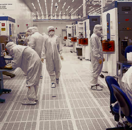 Applied Materials microchip manufacturing