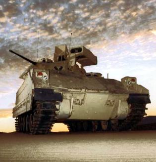 BAE Systems tank