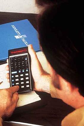 Hewlett-Packard calculator
