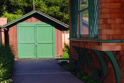Hewlett-Packard garage