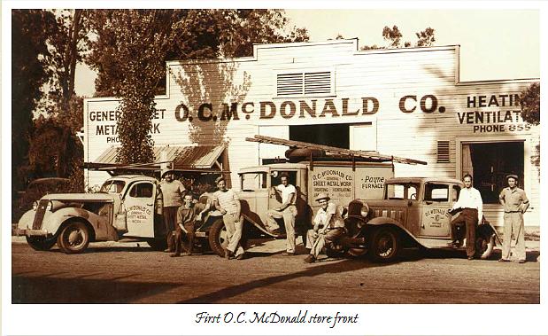 O.C. McDonald store front