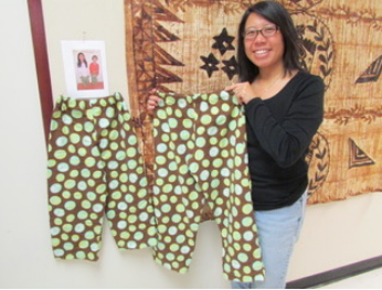 Doing consulting is way less stress ... time for a sewing class! Cozy PJ pants for the kids.