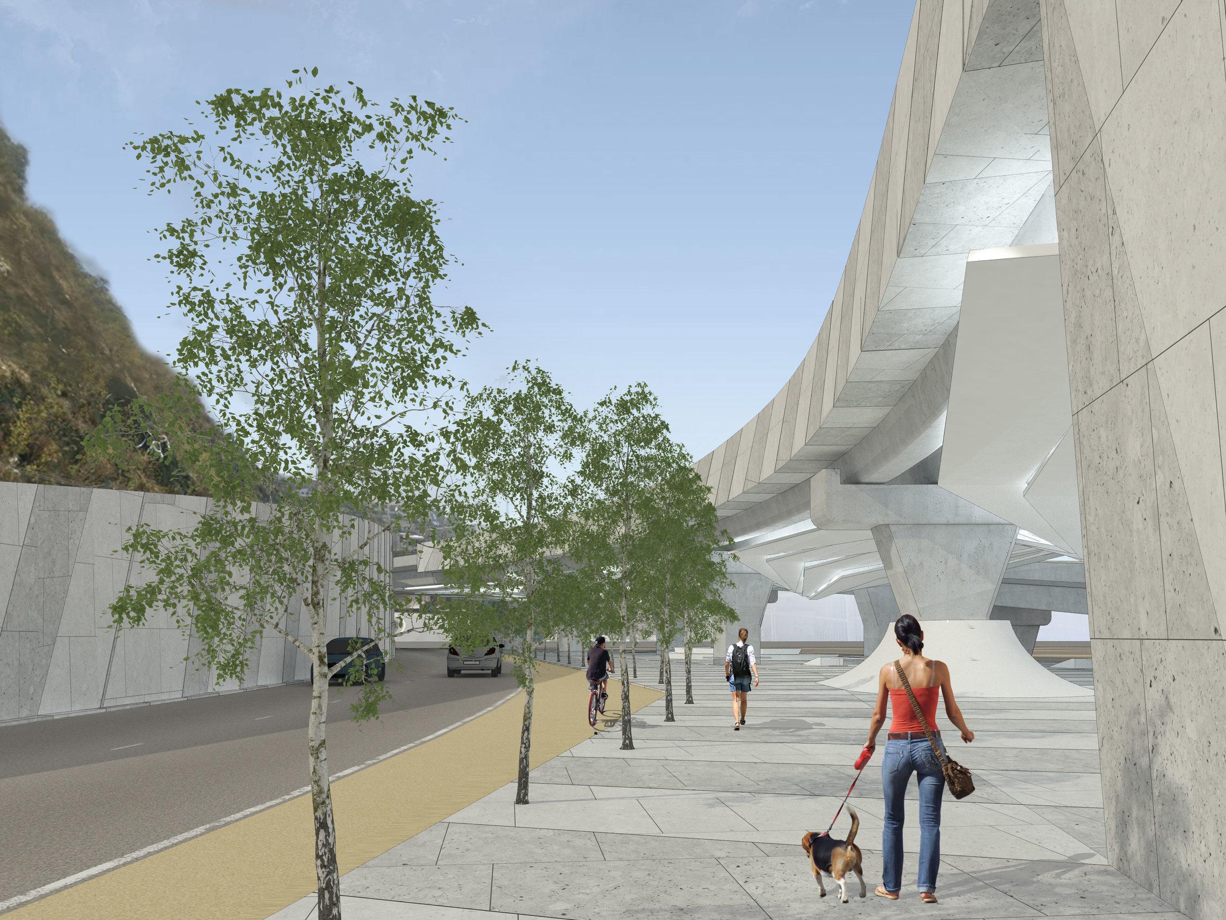 Viaducto Acceso Sur