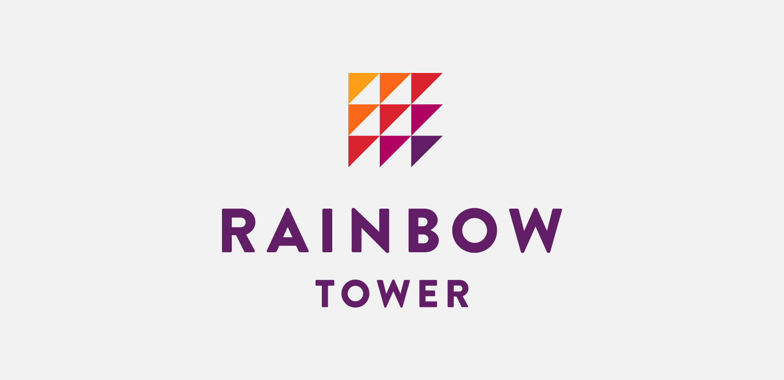 RAINBOW TOWER  Logo for a premier beachfront experience at Hilton Hawaiian Village. Done at MVNP, 2016.