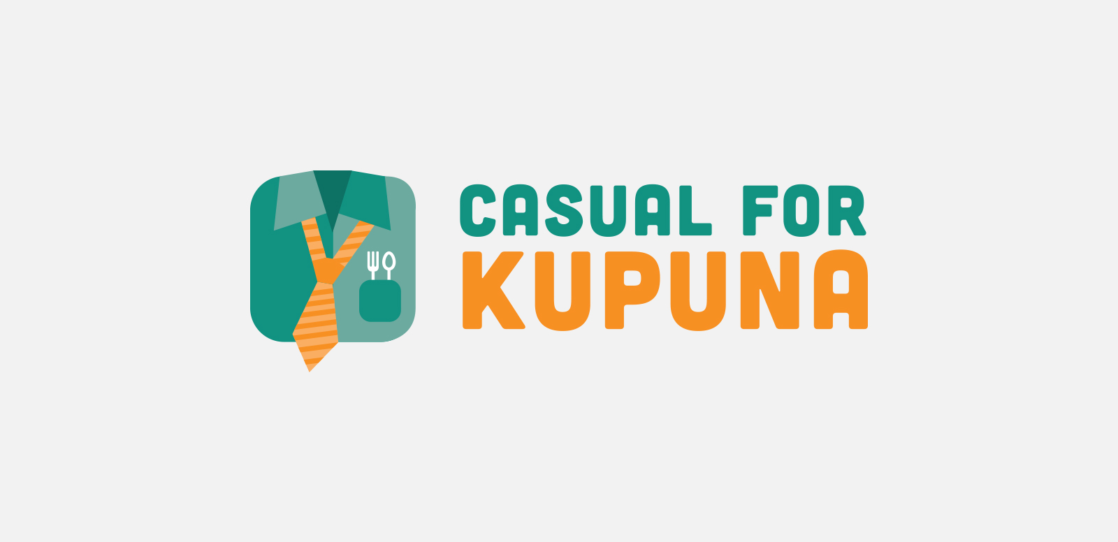 LANAKILA PACIFIC: CASUAL FOR KUPUNA  Logo design for a fundraiser presented by Lanakila Pacific Meals on Wheels. Done at Design Asylum, 2015.