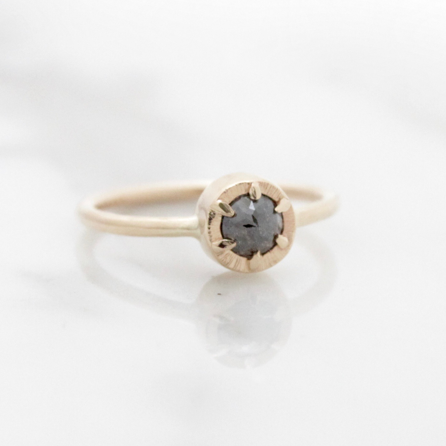 14ky natural grey rosecut diamond ring.jpg