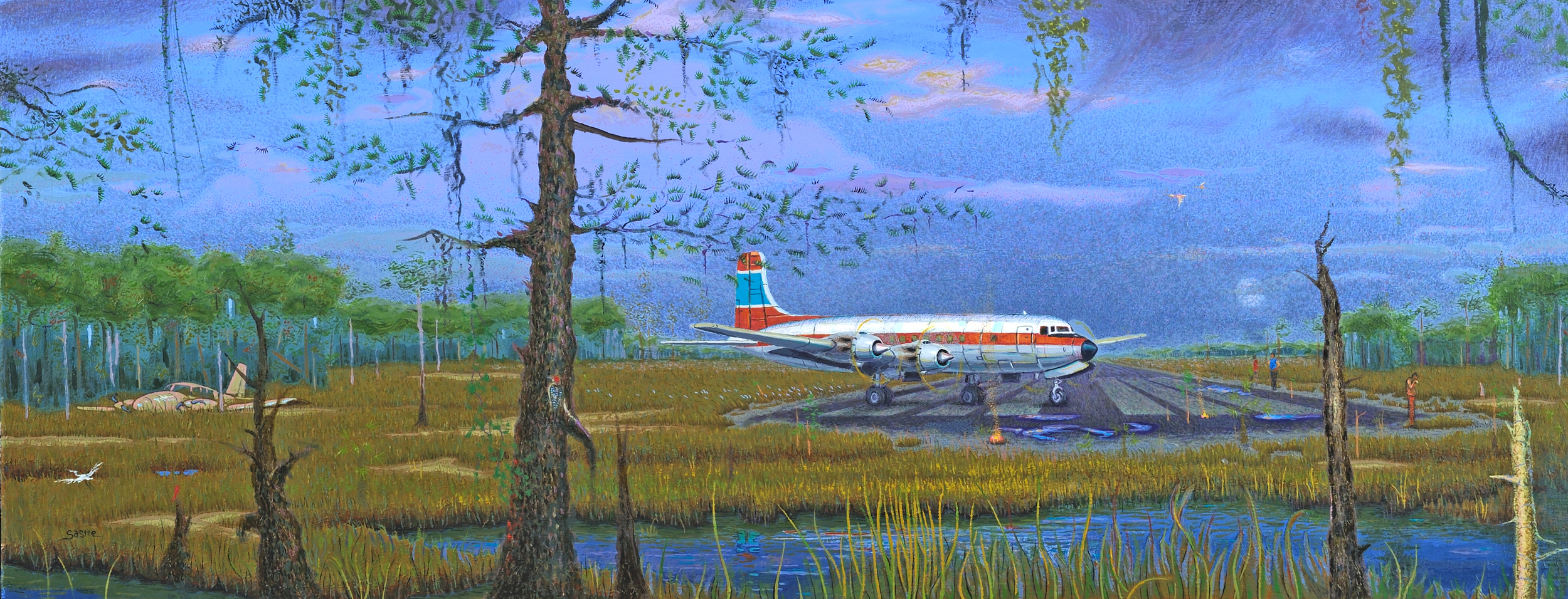 """Taxiing to Threshold  