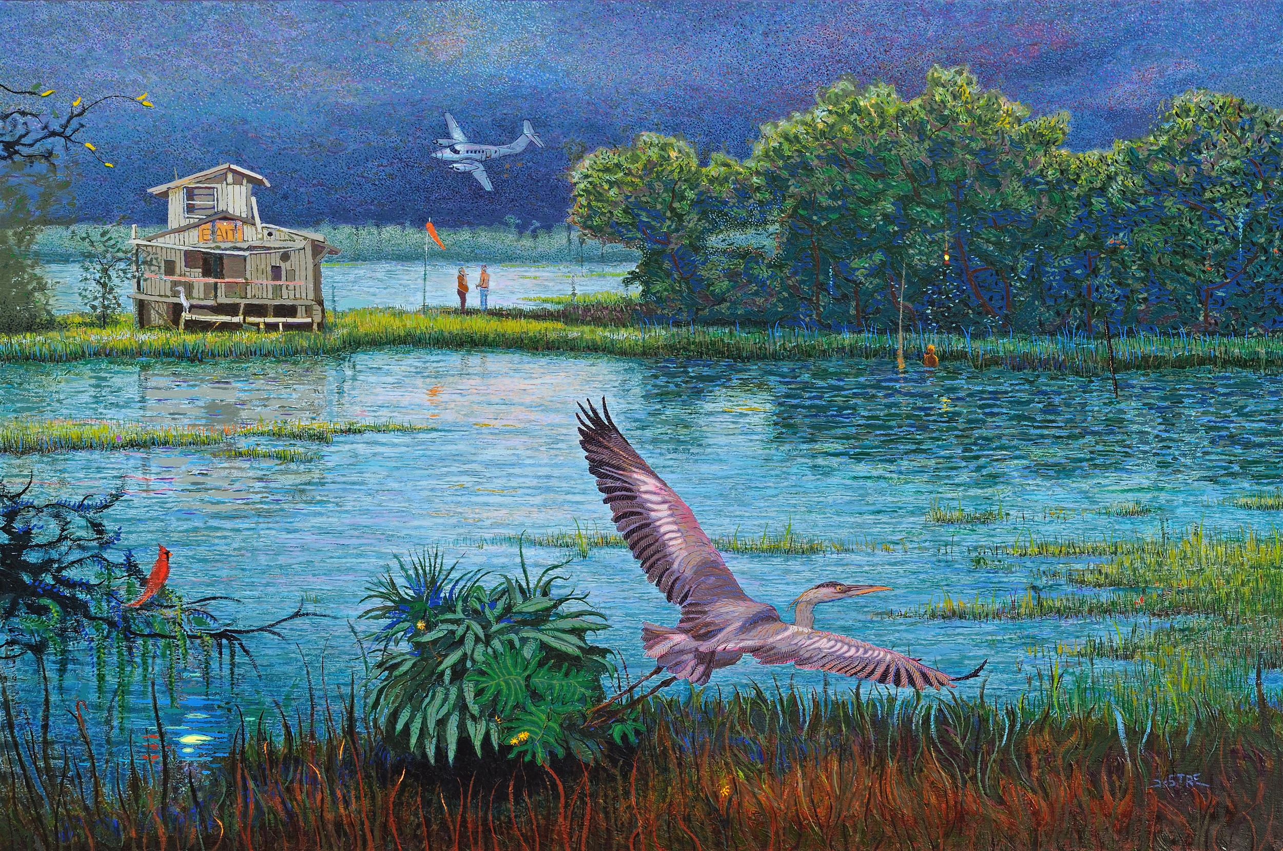 "Twilight Rendezvous  |  24x36""  |  Oil on Canvas"