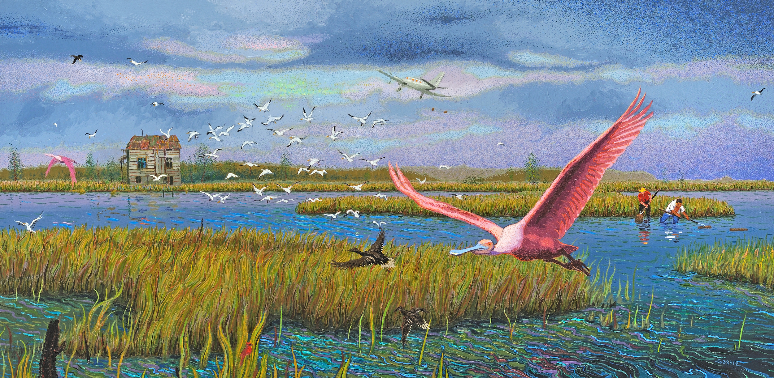 """Scattering Flock  