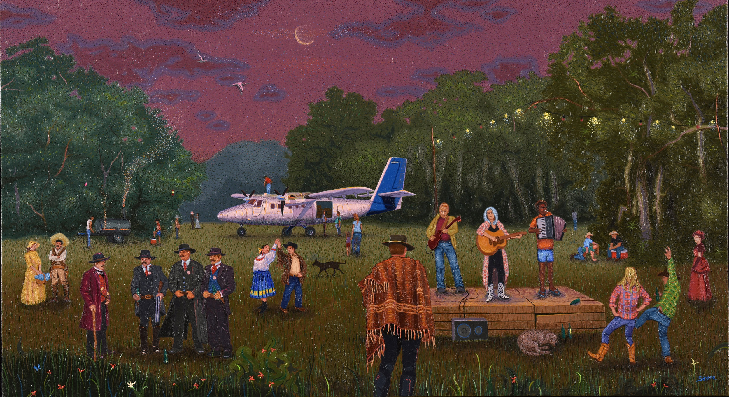 """The Cowboy Costume Party  