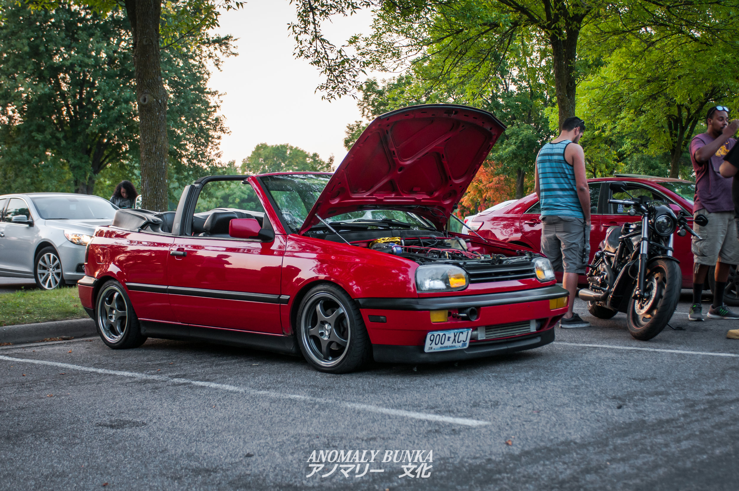 Cool VR-T swapped Cabrio