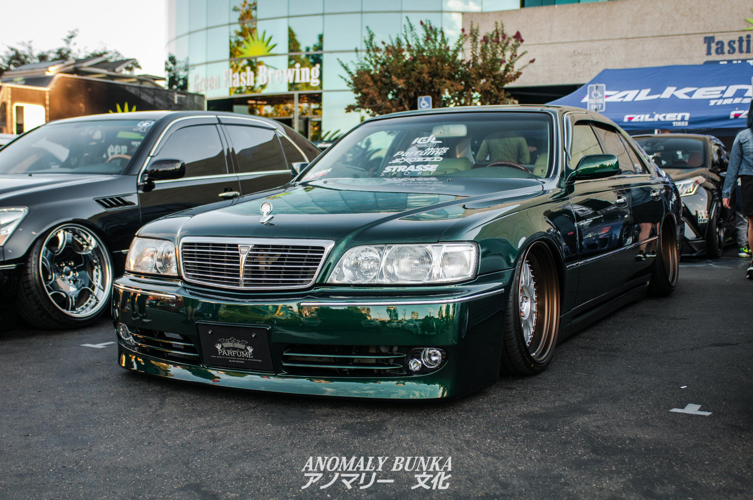Speaking of Joey, it was nice to see his Q45 cleaned up and not in his shop, haha