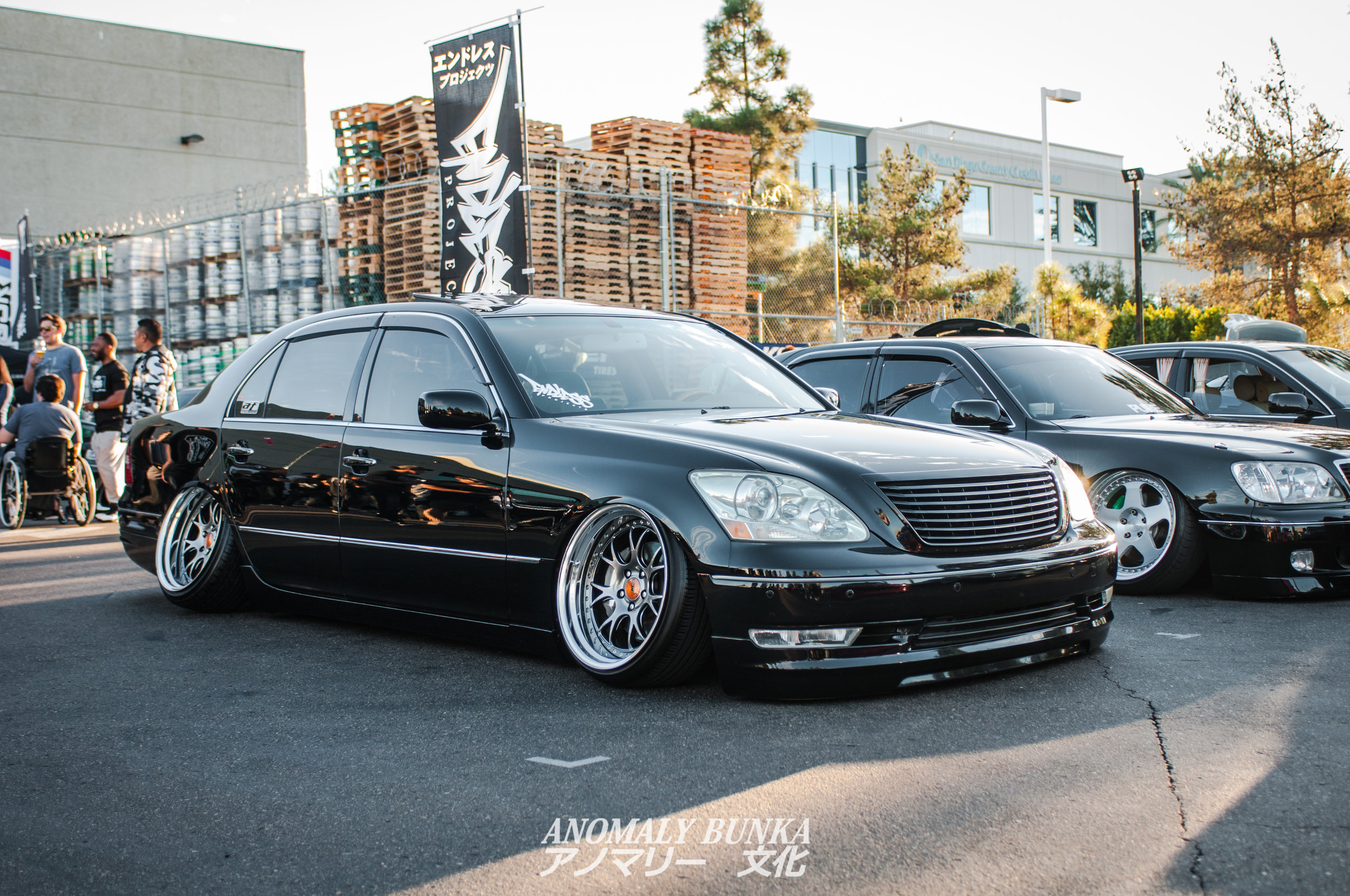 Super clean LS430 on SSR MS3s from Endless Projects