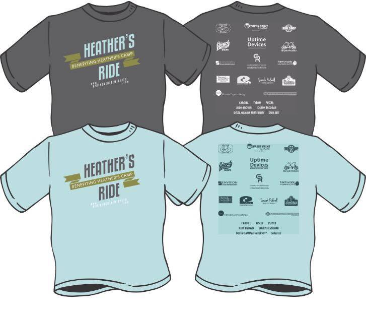 heathers ride 2015 t-shirt design