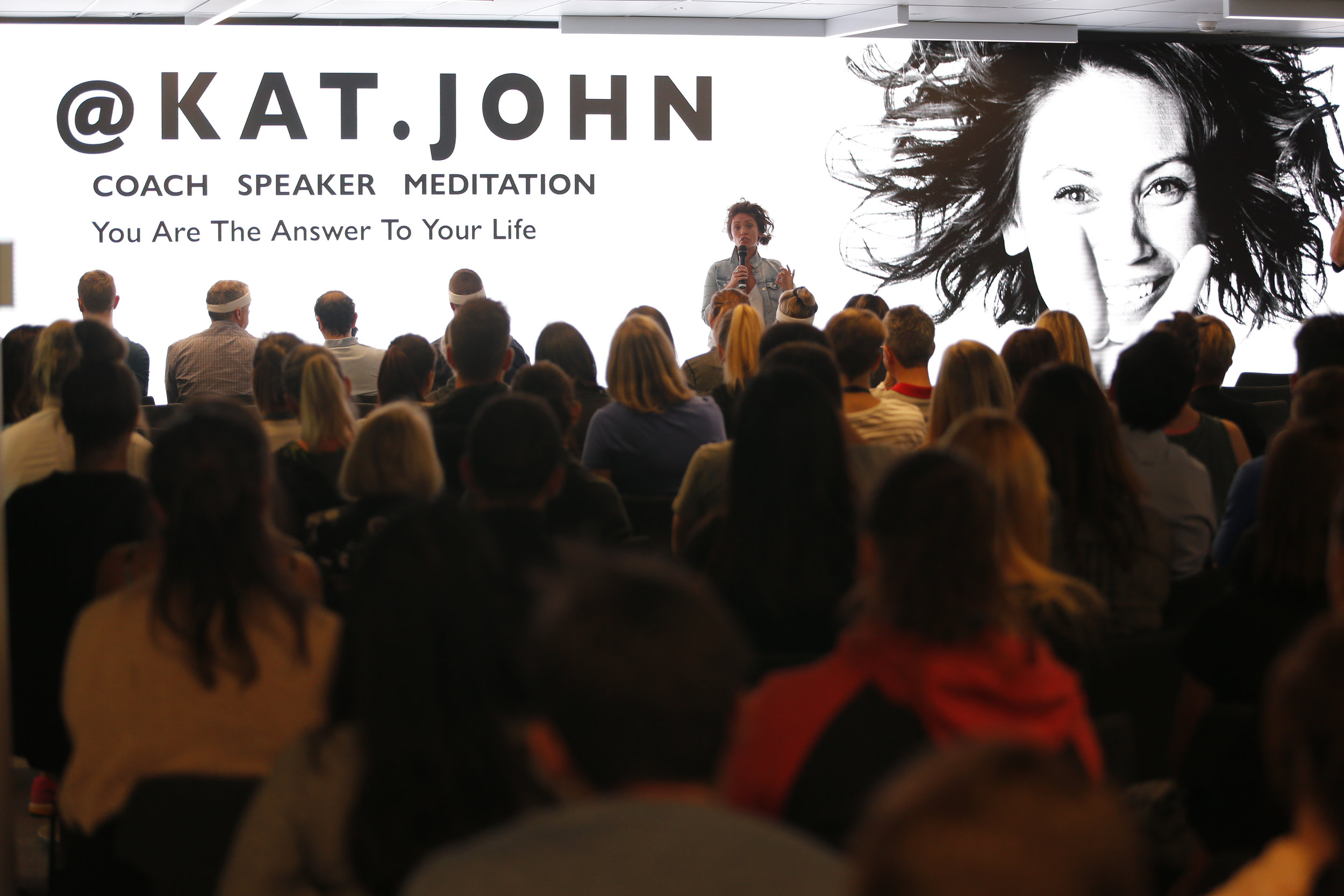KAT JOHN — BE THE CHANGE - As a leader in the health and wellness industry, I give people hope that they too can change the trajectory of their life when they look inside for the answers they seek.More importantly, I provide powerful tools and life hacks to access these answers and make empowering changes that lead to more enjoyable and fulfilling lives.