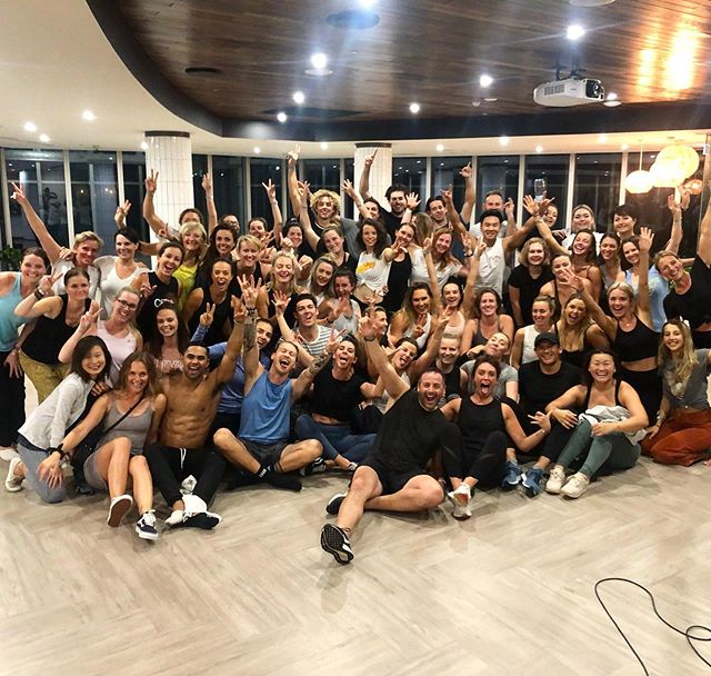 GOLD COAST just got zerofkd! —  Oh my gosh, what a crew. These legends can dance and shake their shit off! Thank you for showing up tonight and creating magic together gang. You bloody rock!! —  A massive s/o to @madeline_desouza and @ameliaeyers for helping me make this happen. —  These events and the energy created never ever gets old. Mind blowing GC!  #zftuesday #thesweatlife