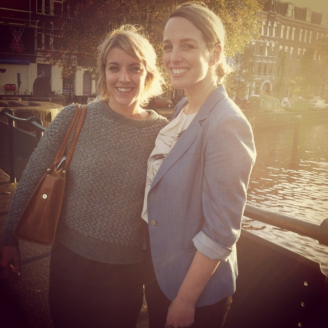 Sundown in Amaterdam after one of the best days ever!